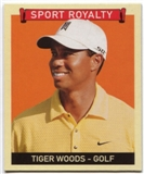 2008 Upper Deck Goudey Mini Blue Backs #330 Tiger Woods Sports Royalty