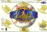 1998 Flair Showcase Baseball Hobby Box