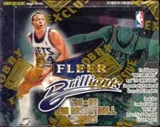 1998/99 Fleer Brilliants Basketball Hobby Box