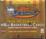 1998/99 Topps Finest Series 1 Basketball Jumbo Box