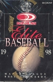 1998 Donruss Elite Baseball Hobby Box