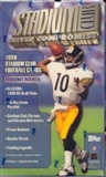 1998 Topps Stadium Club Football Hobby Box
