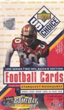 1998 Upper Deck Choice Series 2 Football Hobby Box