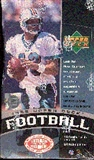 1998 Upper Deck Football Hobby Box