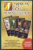 1998 Grand Slam Ventures Golf The Masters Collection Set (Gold Box) Tiger !
