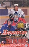 1998/99 Bowman CHL Prospects Hockey Hobby Box