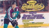 1998/99 Topps Gold Label Hockey 24 Pack Box