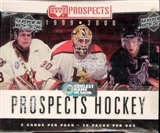 1999/00 Upper Deck CHL Prospects Hockey Box