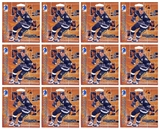 1999/00 ITG Be A Player Millennium Signature Series Hockey Hobby Pack (Lot of 12)(12 Autos per lot)