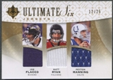 2009 Ultimate Collection #25 Brady Flacco Ryan Sanchez Manning Stafford Ultimate Six Jersey Gold #12/25