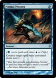Magic the Gathering New Phyrexia Single Mental Misstep UNPLAYED (NM/MT)