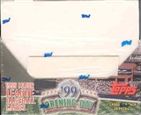 1999 Topps Opening Day Baseball 24 Pack Box