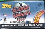 1999 Topps Traded & Rookies Baseball Factory Set (Josh Hamilton Rookie!!!)
