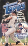 1999 Topps Series 2 Baseball Jumbo Box