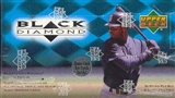 1999 Upper Deck Black Diamond Baseball Hobby Box