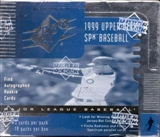 1999 Upper Deck SPx Baseball Hobby Box