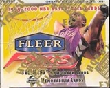 1999/00 Fleer Focus Basketball Hobby Box