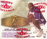 1999/00 Fleer Showcase Basketball Hobby Box
