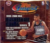 1999/00 Topps Finest Series 1 Basketball Jumbo Box