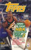 1999/00 Topps Series 2 Basketball Retail 24 Pack Box