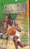 1999/00 Topps Stadium Club Basketball Jumbo Box
