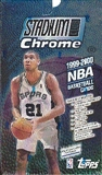 1999/00 Topps Stadium Club Chrome Basketball Hobby Box