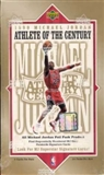 1999/00 Upper Deck Michael Jordan Athlete of the Century Basketball Hobby Box