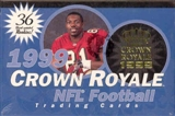 1999 Pacific Crown Royale Football Hobby Box