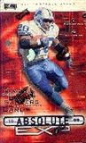1999 Playoff Absolute EXP Football 24 Pack Box