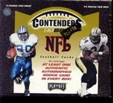1999 Playoff Contenders SSD Football Hobby Box