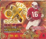 1999 Fleer Skybox E-X Century Football Hobby Box