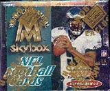 1999 Fleer Skybox Molten Metal Football Hobby Box