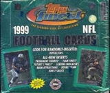 1999 Topps Finest Football Jumbo Box