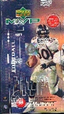 1999 Upper Deck MVP Football Hobby Box