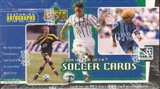 1999 Upper Deck MLS Soccer Hobby Box