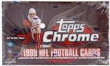 1999 Topps Chrome Football Hobby Box