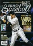2017 Beckett Baseball Monthly Price Guide (#137 August) (Aaron Judge)