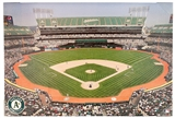 Artissimo Oakland Athletics O. Co Coliseum Stadium 22x33 Canvas
