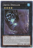 Yu-Gi-Oh Abyss Rising 1st Ed. Single Abyss Dweller Super Rare