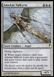 Magic the Gathering Coldsnap Single Adarkar Valkyrie FOIL - SLIGHT PLAY (SP)