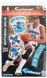 "Fathead Anthony Davis New Orleans Hornets Teammate Player Wall Graphic (10Lot)  10""X17"""
