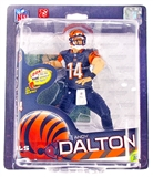 McFarlane Series 32 NFL Andy Dalton (Black) Silver Level Variant Figure