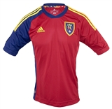 Real Salt Lake Adidas ClimaCool Red Replica Jersey (Adult L)