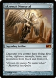 Magic the Gathering 2013 Single Akroma's Memorial Foil - SLIGHT PLAY (SP)