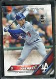2016 Topps Baseball Hawaii Summit Exclusive #279 Alex Guerrero 1/1