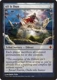 Magic the Gathering Rise of the Eldrazi Single All Is Dust Foil