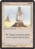 Magic the Gathering Alpha Single Blessing - NEAR MINT (NM)
