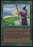 Magic the Gathering Alpha Single Fastbond - MODERATE PLAY (MP)