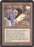 Magic the Gathering Alpha Single Library of Leng - SLIGHT PLAY (SP)