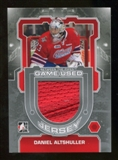 2012/13 In the Game Between The Pipes Jerseys Silver #M01 Daniel Altshuller /140